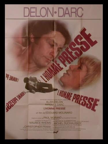 Affiche du film L'HOMME PRESSE