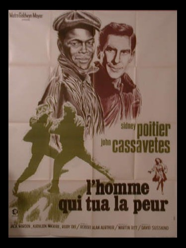 Affiche du film L'HOMME QUI TUA LA PEUR - A MAN IS TEN FEET TALL