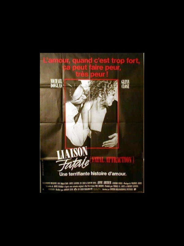 Affiche du film LIAISON FATALE - FATAL ATTRACTION