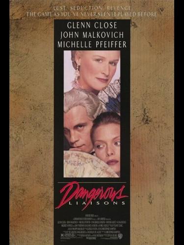 Affiche du film LIAISONS DANGEREUSES (LES) - DANGEROUS LIAISONS