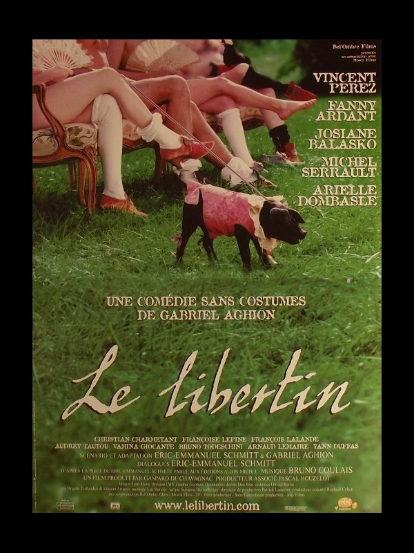 Affiche du film LIBERTIN (LE) - THE LIBERTINE