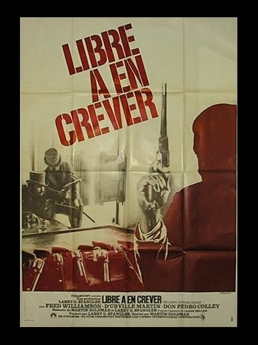 Affiche du film LIBRE A EN CREVER - THE LEGEND OF NIGGER