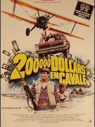 Affiche du film 200 000 DOLLARS EN CAVALE - THE PURSUIT OF D.B. COOPER