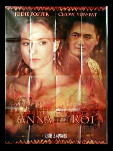 Affiche du film ANNA ET LE ROI - ANNA AND THE KING