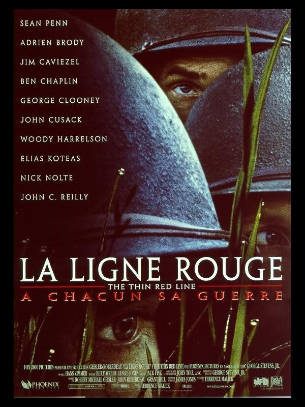 Affiche du film LIGNE ROUGE (LA) - THE THIN RED LINE