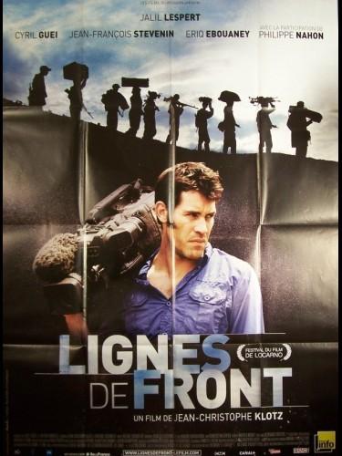 Affiche du film LIGNES DE FRONT
