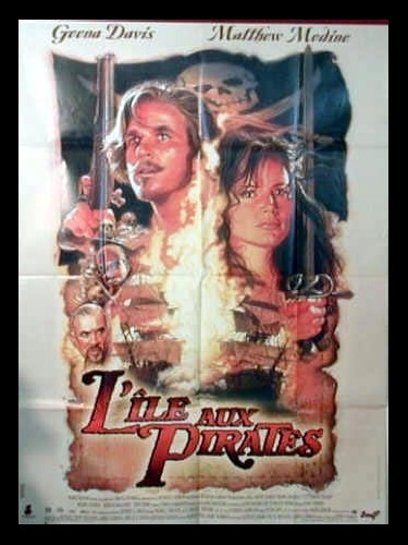 Affiche du film L'ILE AUX PIRATES