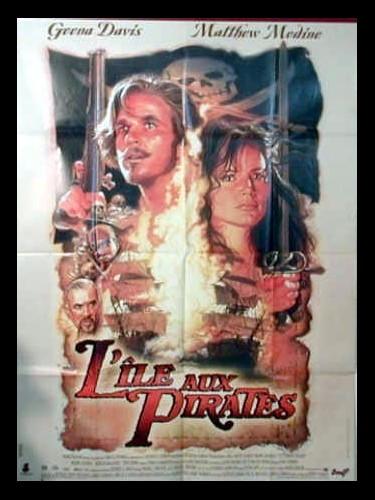 Affiche du film L'ILE AUX PIRATES