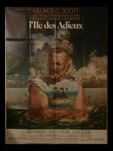Affiche du film L'ILE DES ADIEUX - ISLANDS IN THE STREAM