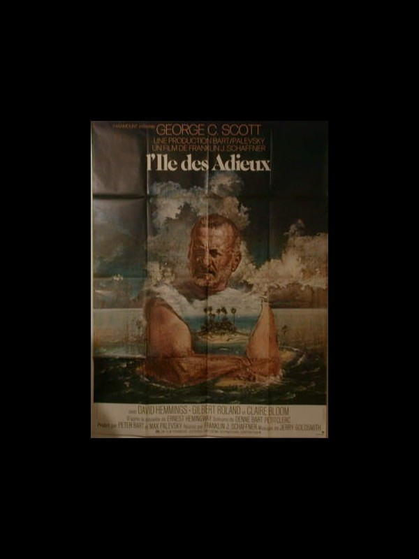 Affiche du film L'ILE DES ADIEUX - ISLANDS IN THE STREAM