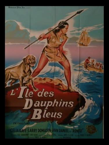 Affiche du film L'ILE DES DAUPHINS BLEUS