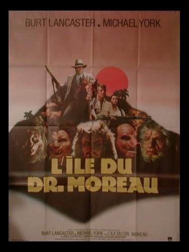 Affiche du film L'ILE DU DR MOREAU