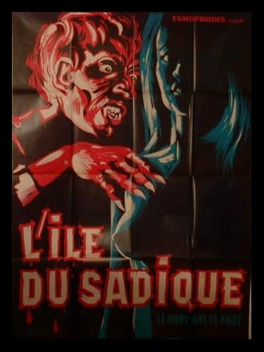 Affiche du film L'ILE DU SADIQUE - EIN TOTER HING IM NETZ