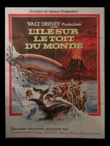 Affiche du film L'ILE SUR LE TOIT DU MONDE - ISLAND AT THE TOP OF THE WORLD