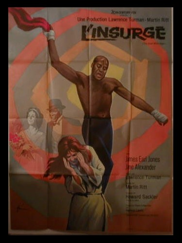 Affiche du film L'INSURGE - THE GREAT WHITE HOPE