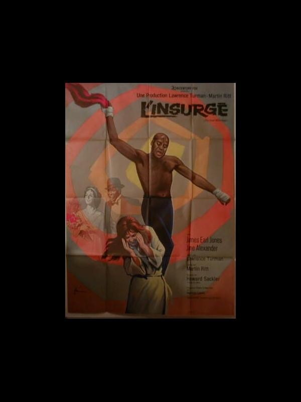 Affiche du film L'INSURGE - THE GREAT WHITE HOPE