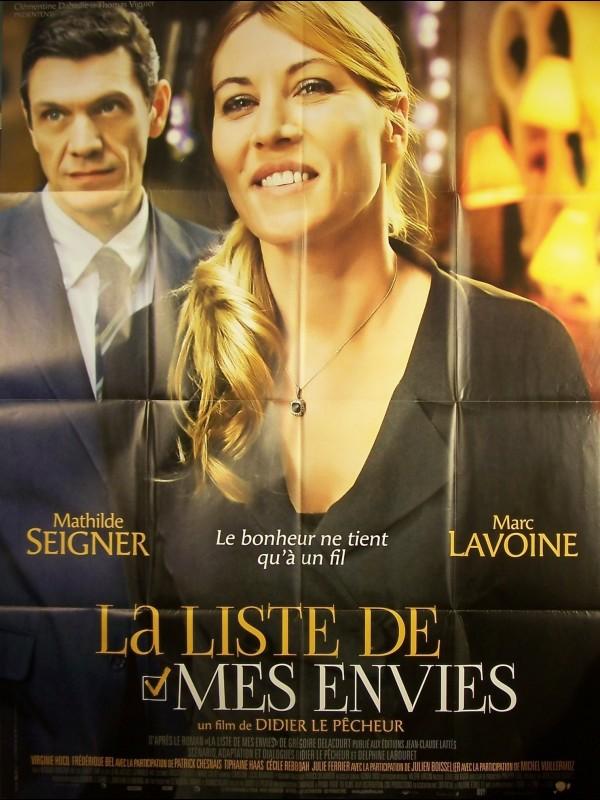 Affiche du film LISTE DE MES ENVIES (LA)