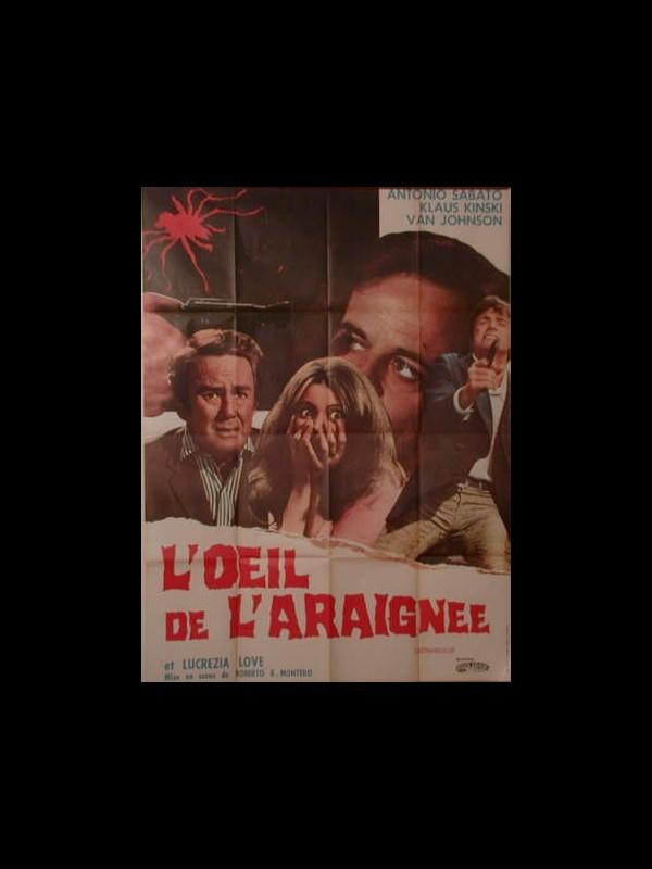 Affiche du film L'ŒIL DE L'ARAIGNEE - L'OCCHIO DEL RAGNO