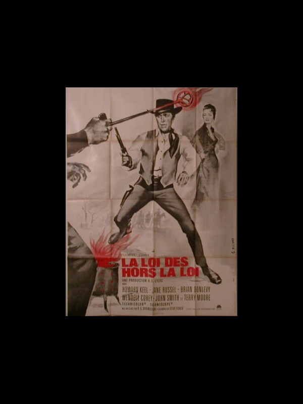 Affiche du film LOI DES HORS LA LOI (LA) - WACO