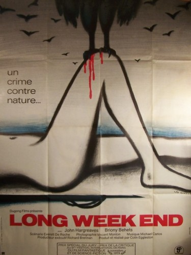 Affiche du film LONG WEEK END