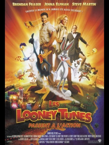 Affiche du film LOONEY TUNES PASSENT A L'ACTION (LES) - BACK IN ACTION