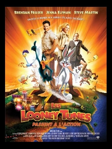 Affiche du film LOONEY TUNES PASSENT A L'ACTION (LES) - LOONEY TUNES : BACK IN ACTION