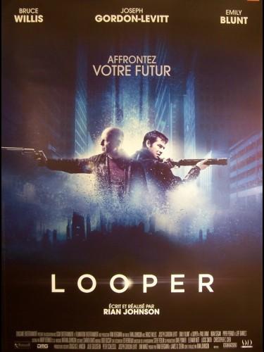 Affiche du film LOOPER (AFFICHE ROULÉE)