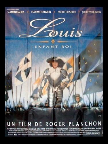 Affiche du film LOUIS ENFANT ROI
