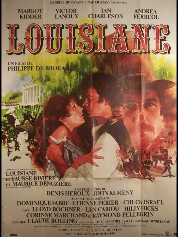 Affiche du film LOUISIANE