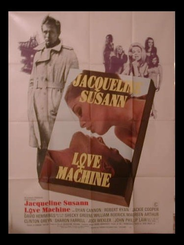 Affiche du film LOVE MACHINE