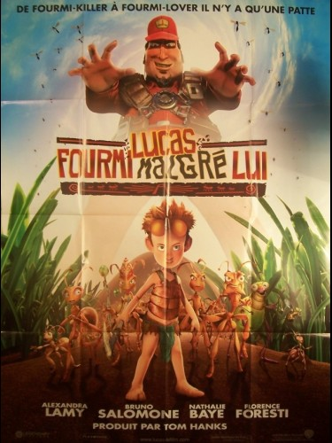 Affiche du film LUCAS FOURMI MALGRE LUI - THE ANT BULLY