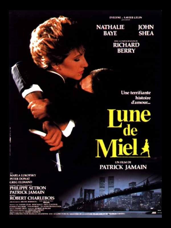 Affiche du film LUNE DE MIEL