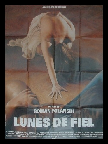 Affiche du film LUNES DE FIEL
