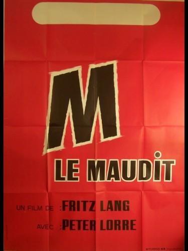 Affiche du film M LE MAUDIT