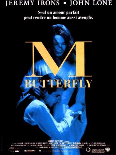 Affiche du film M. BUTTERFLY - M. BUTTERFLY