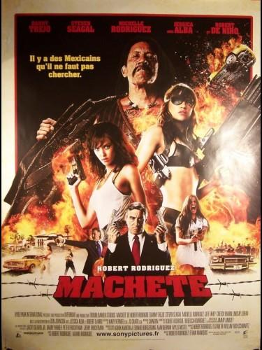 Affiche du film MACHETE (A)