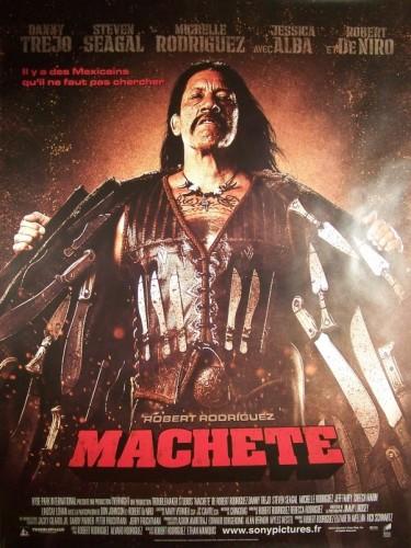 Affiche du film MACHETE (B)