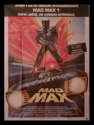 Affiche du film MAD MAX 1