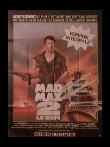 Affiche du film MAD MAX 2