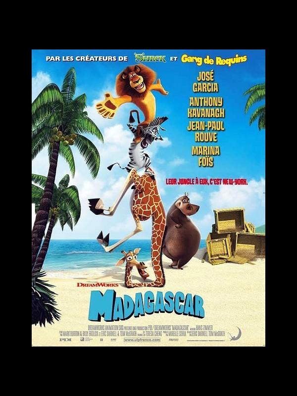 Affiche du film MADAGASCAR 1 - MADAGASCAR 1