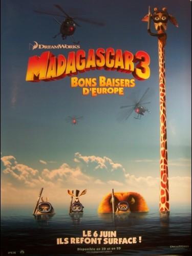 Affiche du film MADAGASCAR 3