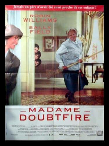 Affiche du film MADAME DOUBTFIRE