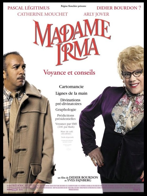 Affiche du film MADAME IRMA