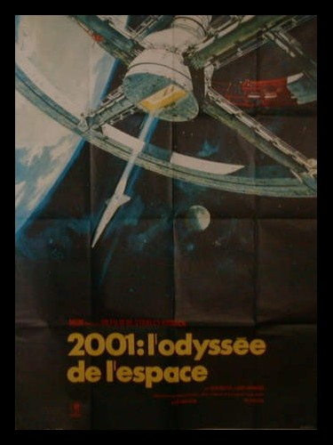 Affiche du film 2001 L'ODYSSEE DE L'ESPACE