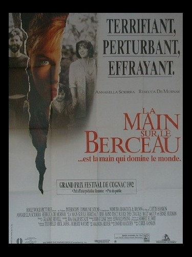 Affiche du film MAIN SUR LE BERCEAU (LA) - THE HAND THAT ROCKS THE CRADLE