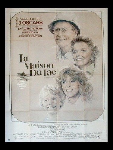 Affiche du film MAISON DU LAC (LA) - ON GOLDEN POND