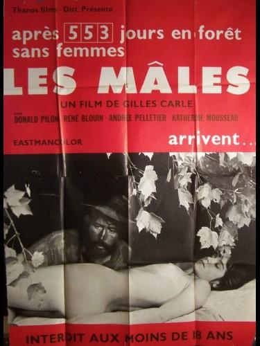 Affiche du film MALES (LES)
