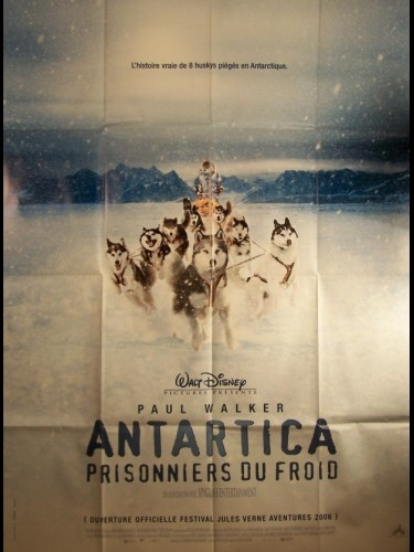 Affiche du film ANTARTICA-PRISONNIERS DU FROID- - EIGHT BELOW