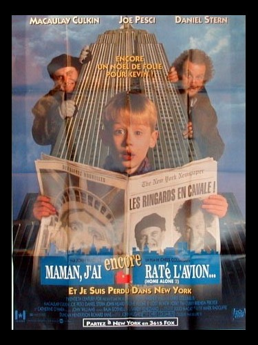Affiche du film MAMAN, J'AI ENCORE RATE L'AVION