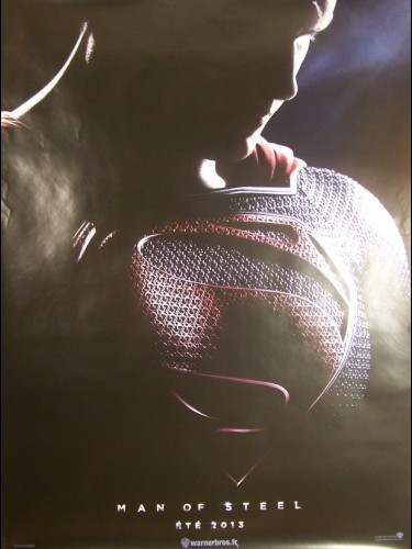 Affiche du film MAN OF STEEL (AFFICHE ROULÉE)